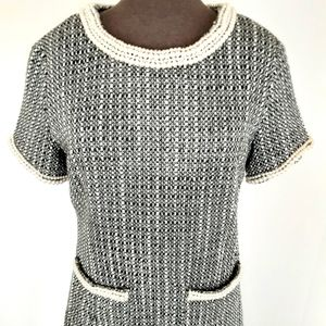 Chanel Style Tweed Dress